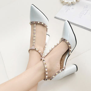 High Quality Buckle High Heels - J20Style - 2