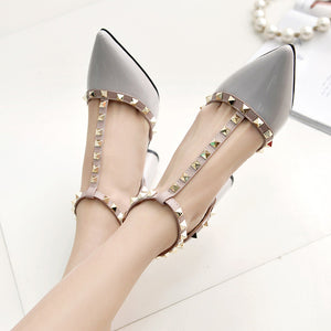High Quality Buckle High Heels - J20Style - 3