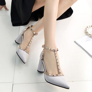 High Quality Buckle High Heels - J20Style - 4