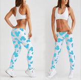 Summer Mickey Printed Sports Leggings - J20Style - 5