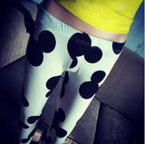 Summer Mickey Printed Sports Leggings - J20Style - 4