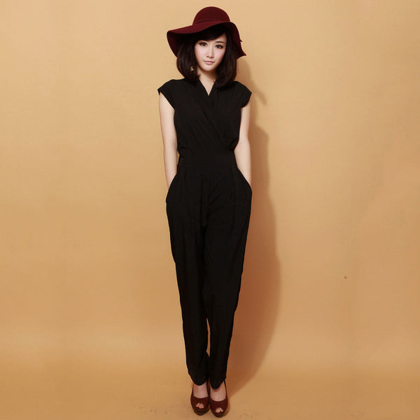 Fashion Waist Jumpsuit Pants - J20Style - 3