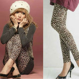 Long Leopard Stretched Leggings - J20Style - 3