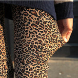 Long Leopard Stretched Leggings - J20Style - 1