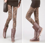Long Leopard Stretched Leggings - J20Style - 2