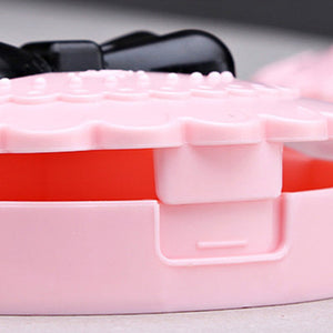 New Acrylic Flower Eyelash Storage Makeup Box