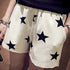 Casual Elastic Star Printed Shorts