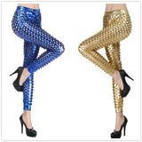Punk Metal Hole Skinny Legging - J20Style - 1