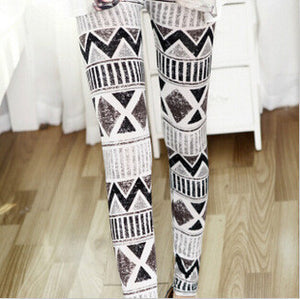 High Quality Punk Floral Legging - J20Style - 2