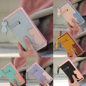 High Quality Cute Cat Long Wallet - J20Style - 3