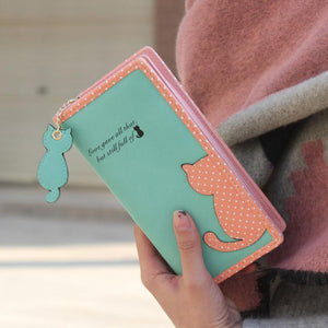 High Quality Cute Cat Long Wallet - J20Style - 1
