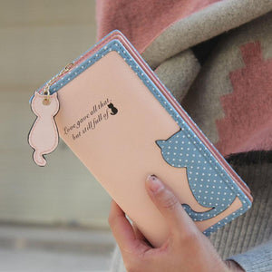 High Quality Cute Cat Long Wallet - J20Style - 2