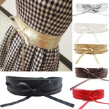 Soft Leather Self Tie Waist Band - J20Style - 1
