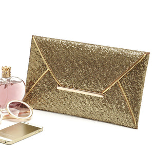 Summer Style Envelope Evening Party Clutch - J20Style - 1