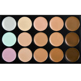 15 Color Make-Up Palette with 7 Powder Brush - J20Style - 4