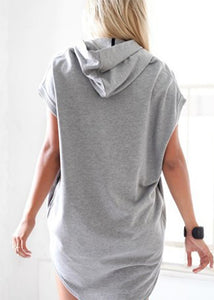 Summer Gray Batwing Blouse Shirt - J20Style - 1