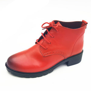 Lace-Up Platform Zapatos Hombre Oxford Shoes