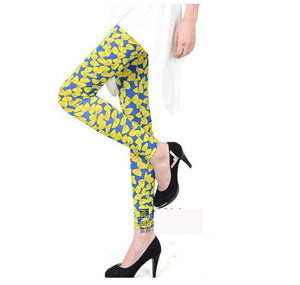 Bow Knot Printed Skinny Trouser - J20Style - 3