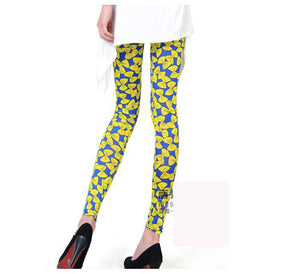 Bow Knot Printed Skinny Trouser - J20Style - 2
