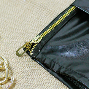 High Quality Black Leather Shorts - J20Style - 5
