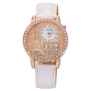Paris Eiffel Tower Quartz Wrist Watch