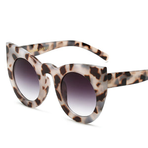 Sexy Round Cat Eye Gradient Sunglasses