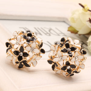Four Leaf Flower Stud Earrings - J20Style - 3