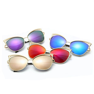 High Quality Vintage Cat Eye Sunglasses - J20Style - 4