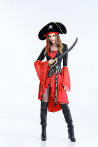 Halloween Pirates Costume for Women - J20Style - 3