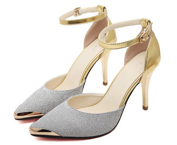 Glitter High Heels Shoes - J20Style - 4