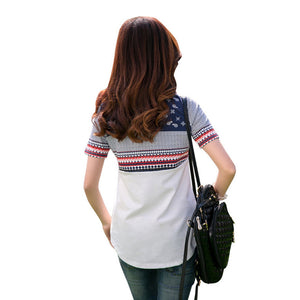 Short Sleeve Graphic Tops Tee Shirt