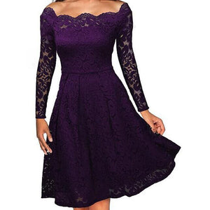 Retro Style Rockabilly Swing Wedding Party Dress