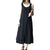 Summer Long Linen Vintage Tank Dress - J20Style - 1