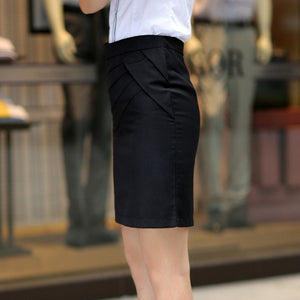 High Waist Formal Office Skirt - J20Style - 3