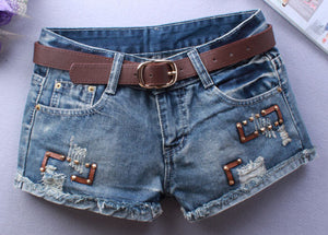 Summer Hip Hop Rivet Short - J20Style - 1