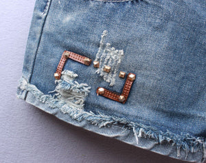 Summer Hip Hop Rivet Short - J20Style - 3