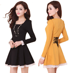 Summer Back Cross Lace-Up Dress - J20Style - 1