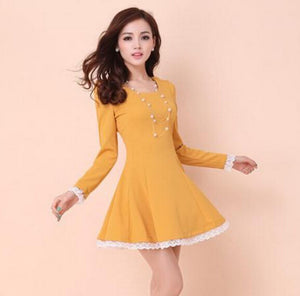 Summer Back Cross Lace-Up Dress - J20Style - 2