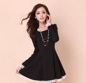 Summer Back Cross Lace-Up Dress - J20Style - 4