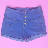 Skinny Stretch High Waist Short - J20Style - 4