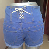 Skinny Stretch High Waist Short - J20Style - 1