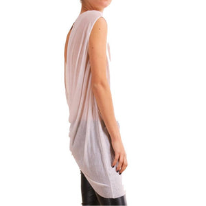 Summer Sleeveless Chiffon Blouse Shirt - J20Style - 3