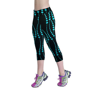 Summer Printed & Stretched Sports Legging - J20Style - 1