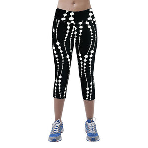 Summer Printed & Stretched Sports Legging - J20Style - 6