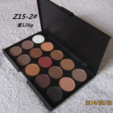 15 Earth Colors Matte Eye-shadow Palette - J20Style - 3