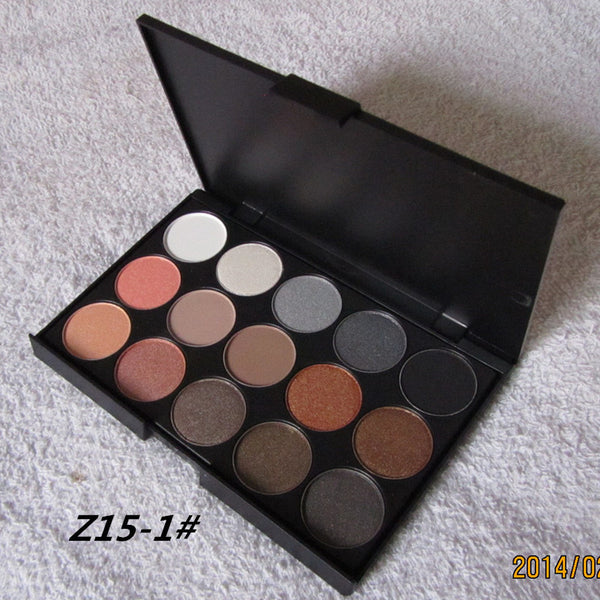 15 Earth Colors Matte Eye-shadow Palette - J20Style - 2