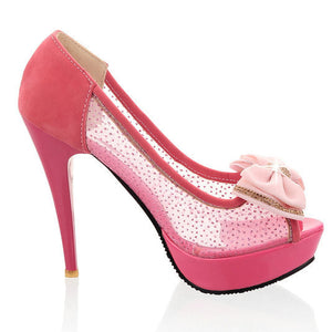 Ultra Thin Cut-Out High Heeled - J20Style - 4