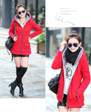 High Quality Fur Collar Long Jacket - J20Style - 4