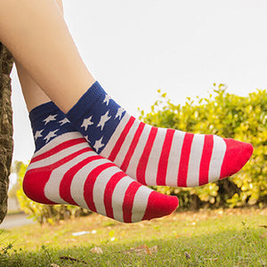Casual Stars Stripes Crew Socks - J20Style - 3