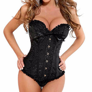 Good Quality Lace Bustier Corset - J20Style - 1